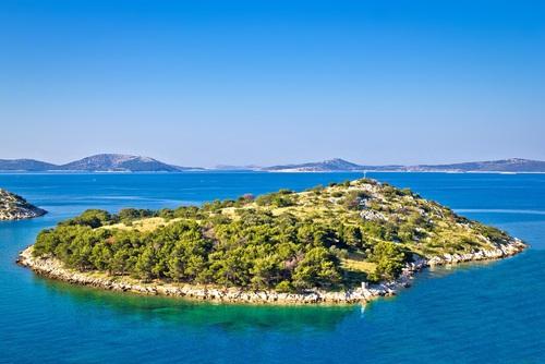 Het Kornati National Park - bezienswaardigheden Kroatië