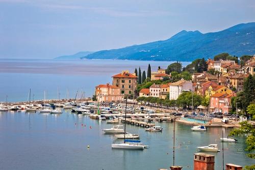 Kvarner baai - bezienswaardigheden Kroatië